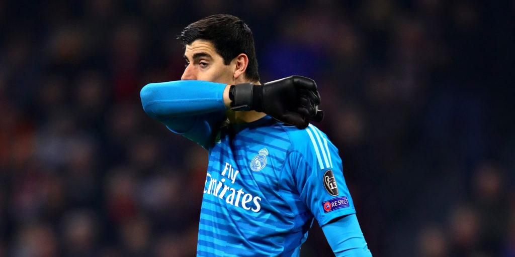 Куртуа опроверг кризис «Реала»
