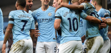 БК «1хСтавка»: «Манчестер Сити» утвердился в статусе фаворита АПЛ
